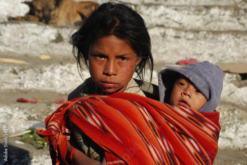 Fotografie, Obraz  Enfants du Guatemala