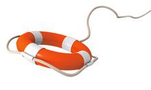 Life Belt Flying - Orange