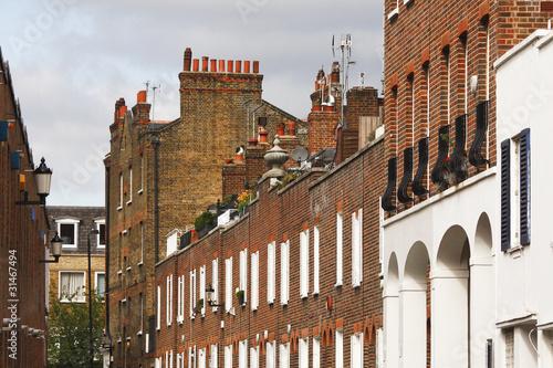 London, Victorian architecture Poster