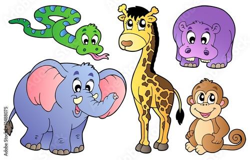 zestaw-uroczych-zwierzat-afrykanskich