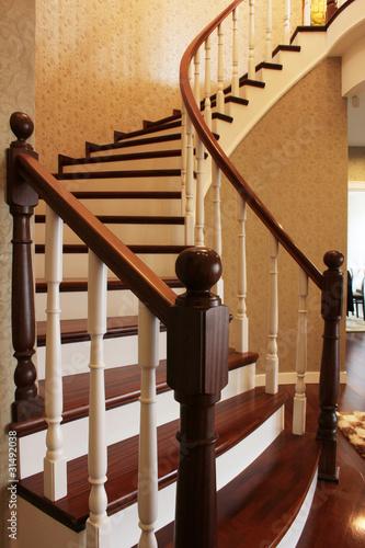 wooden stairs Tapéta, Fotótapéta