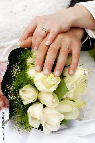 Foto op Plexiglas Bouquet matrimoniale