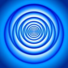 Abstract Blue Vortex