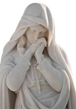 Statue Of A Beautiful Woman Wi...