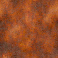 Seamless Rusty Metal Panel Tex...