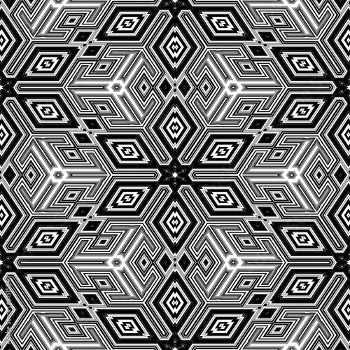 Wall Murals Psychedelic 3d abstract cubes resembling an Escher illustration