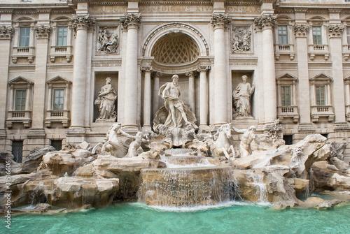 Fotografie, Obraz  Roma, Fontana di Trevi