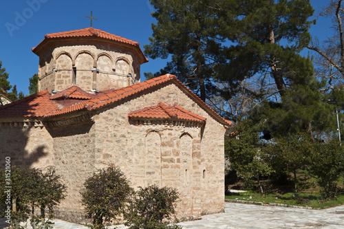 Fotografie, Obraz  Church of Agia Lavra at Kalavryta village in Greece