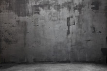 Empty Grungy Scene With Light