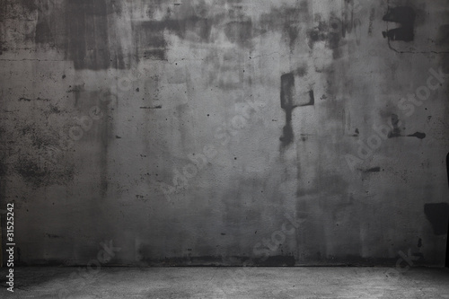 Fototapeta Empty grungy scene with light obraz