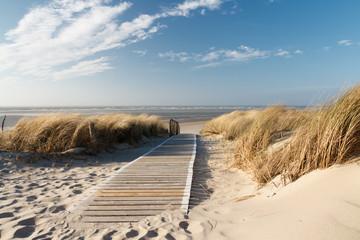 FototapetaNordsee Strand auf Langeoog