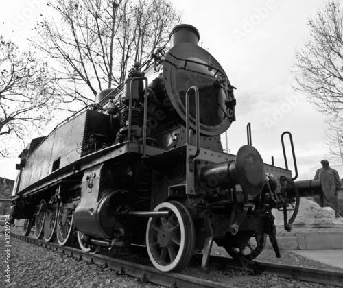 Fototapeta Steam train obraz na płótnie