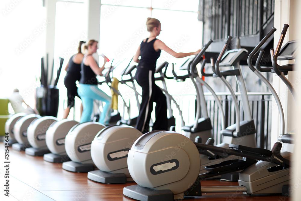 Foto-Stoff bedruckt - Fitness