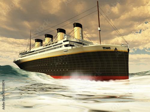 TITANIC OCEAN-LINER Wallpaper Mural