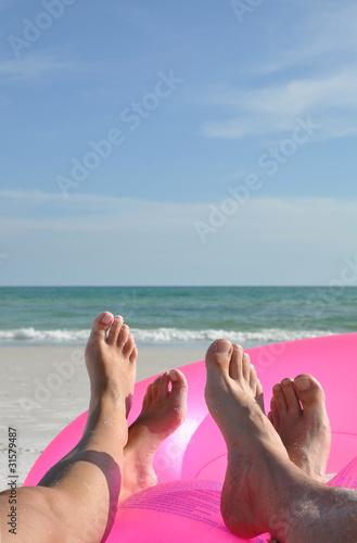Fotografie, Obraz szczęśliwe stopy