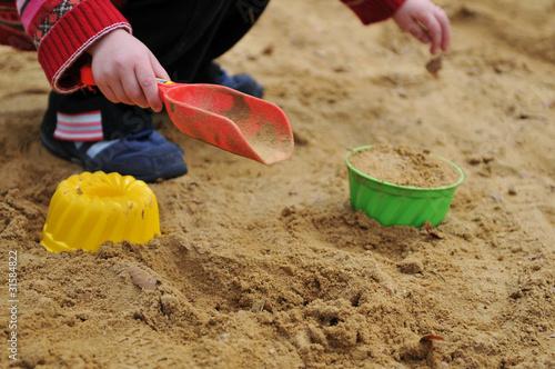 Photo  Sandkasten