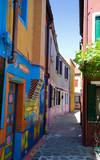 Venice, Burano island street