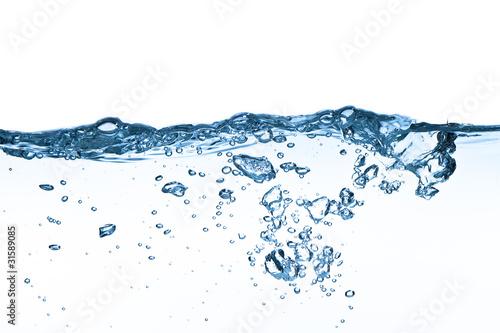 Fototapeta water splashing obraz na płótnie