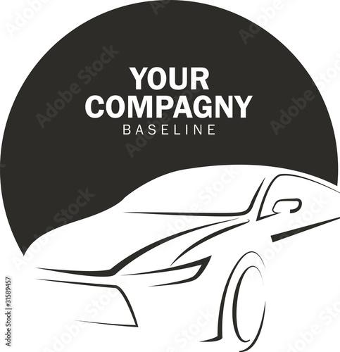 Photo  logo automobile