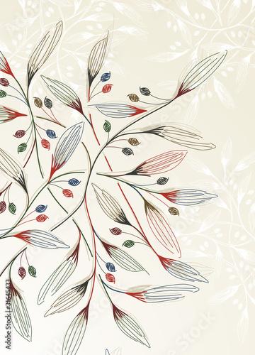 wektorowe-piekne-roslinne-galezie-rysunkowe-abstrakcyjne-kwiatowe-tlo-styl-vintage