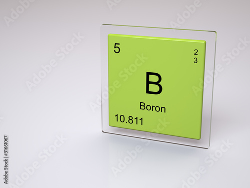 Boron symbol b chemical element of the periodic table buy this boron symbol b chemical element of the periodic table urtaz Image collections