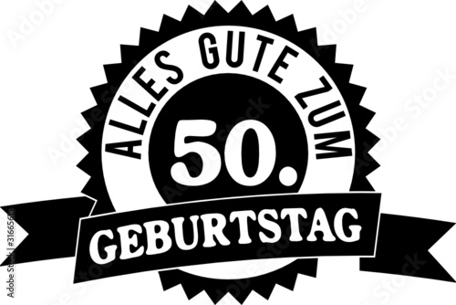 Alles Gute Zum 50 Geburtstag Buy This Stock Vector And Explore