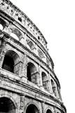Koloseum w Rzymie. Zdjęcie monochromatyczne - 31685212