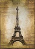 Fototapeta Wieża Eiffla - Tour Eiffel, style vintage