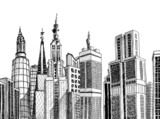Urban generic architecture sketch - 31714283