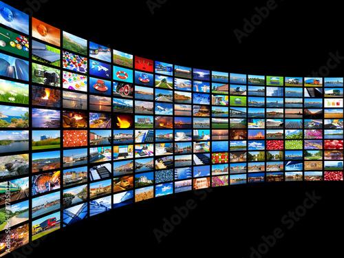 Fotografía  Streaming media concept
