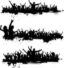 Grunge Party Crowds