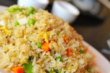 Typical Asian Fried Rice Dish