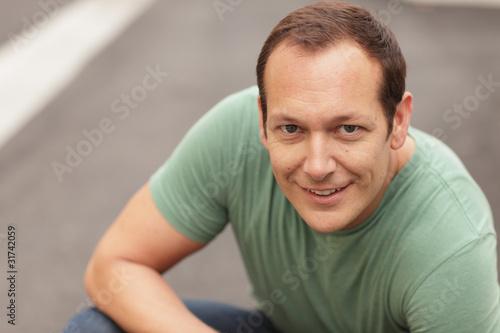 Fotografia, Obraz  Handsome man smiling