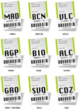 Airport Tag Bags - Espagne 02