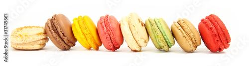 Staande foto Macarons macarons