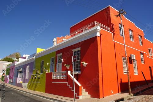 Poster Afrique du Sud BO-KAAP CAPE TOWN
