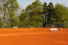 Courts De Tennis Vides.