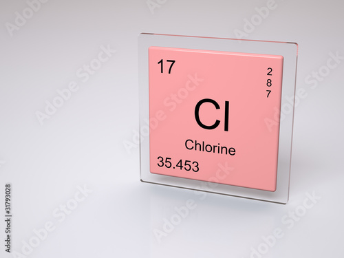 Chlorine symbol cl chemical element of the periodic table buy chlorine symbol cl chemical element of the periodic table urtaz Images