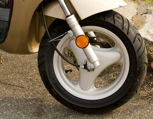 Fototapeta Motor ruota motorino
