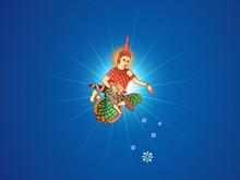 Khmer New Year Blessing Angel