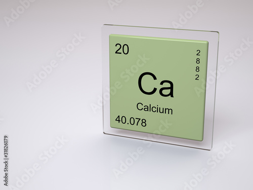 Calcium Symbol Ca Chemical Element Of The Periodic Table Buy