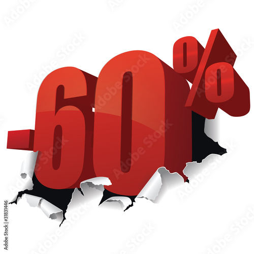Poster  Promotions -60%
