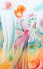 12 Zodiac Painted Glass Decora...