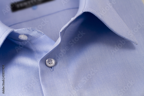Plakat niebieska koszula