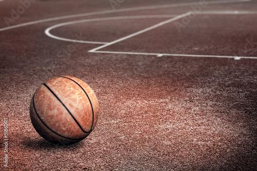 Foto Rollo Premium - Streetballcourt (von lassedesignen)
