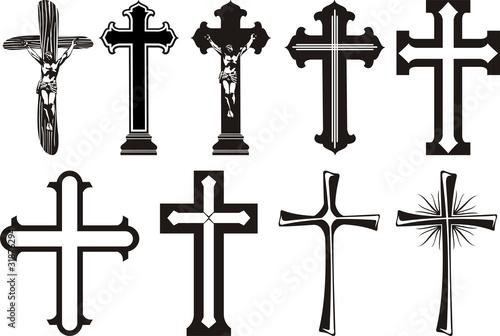 Valokuvatapetti krzyż - religia