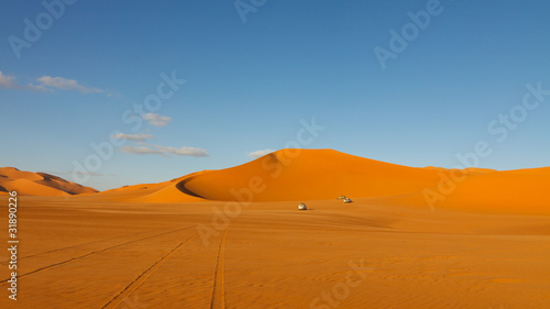 Keuken foto achterwand Rood paars Sahara Desert Safari