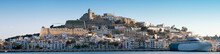 Panorama Image Of Ibiza Town