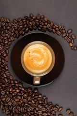 Fototapeta Kawa Tasse de Café