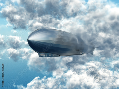 Zeppelin Fotobehang